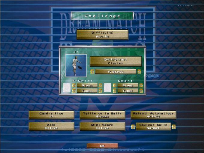 Dream Match Tennis Online