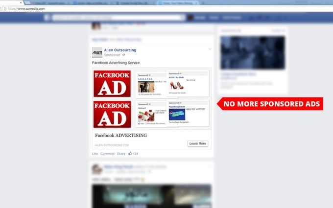 Facebook AdBlock for Chrome