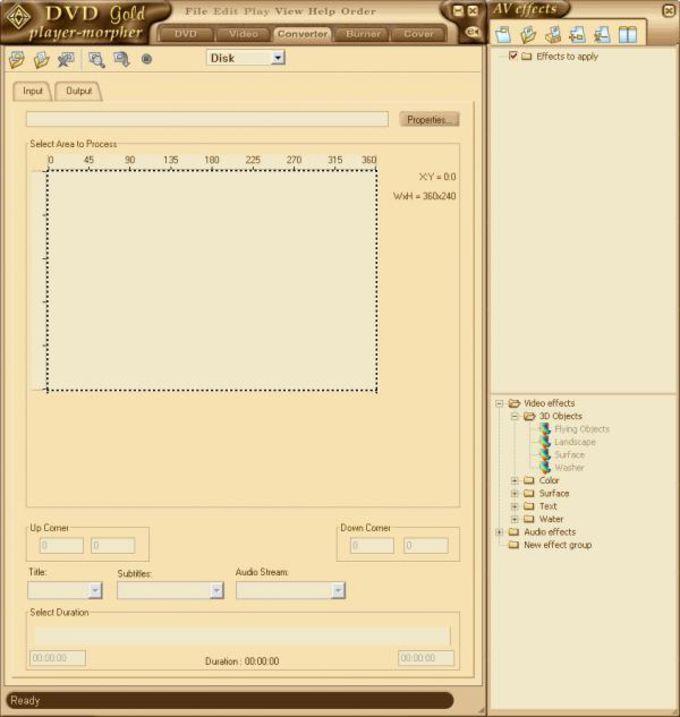 AV DVD Player-Morpher