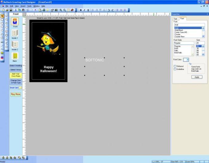 Belltech Greeting Card Designer