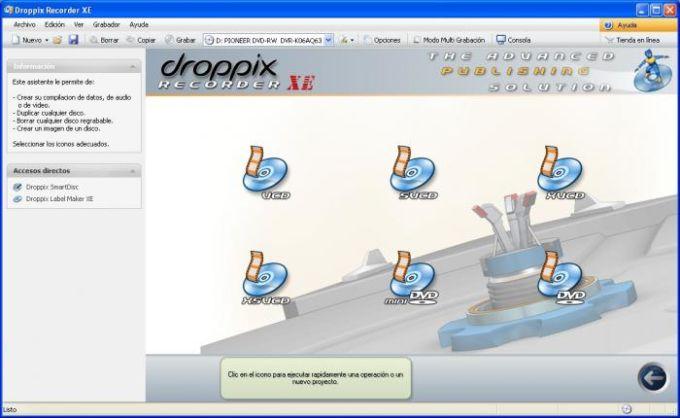 Droppix Recorder XE