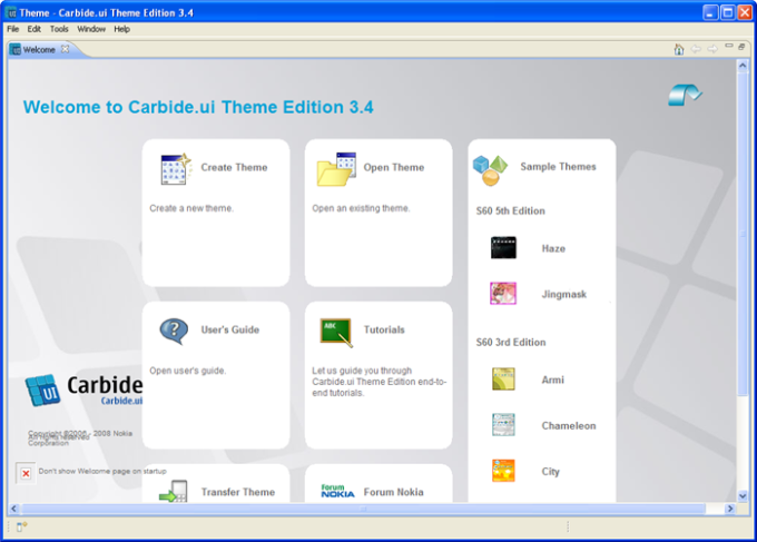 Carbide.ui Theme Edition