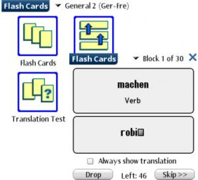 LingvoSoft FlashCards Deutsch/Slowakisch