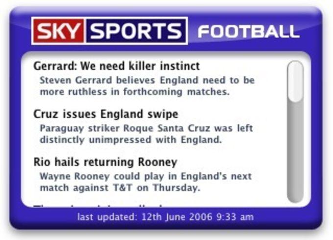 Sky Sports Football News