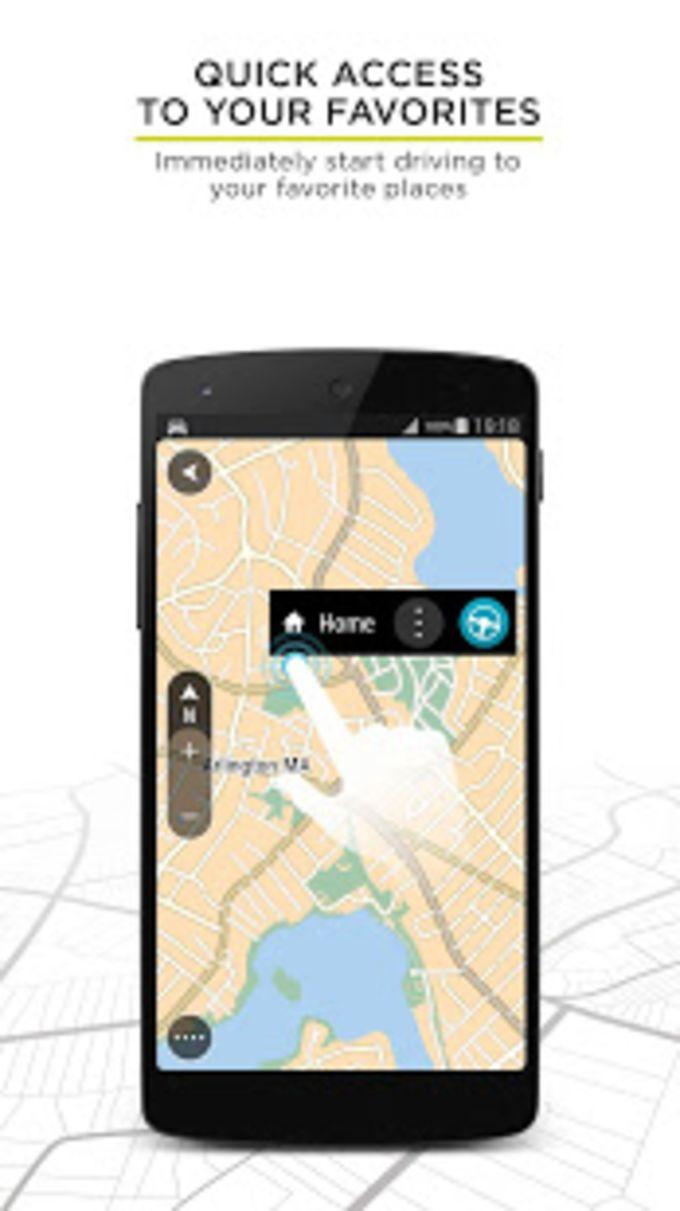 TomTom GO Navigation - GPS Maps  Live Traffic