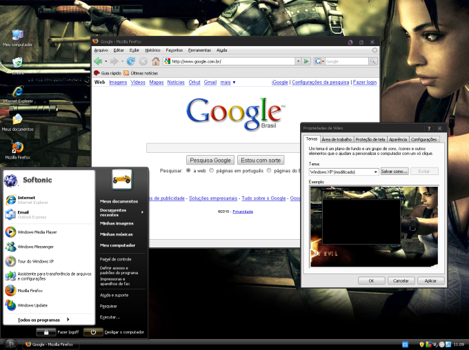 Tema Playstation 3 para Windows XP