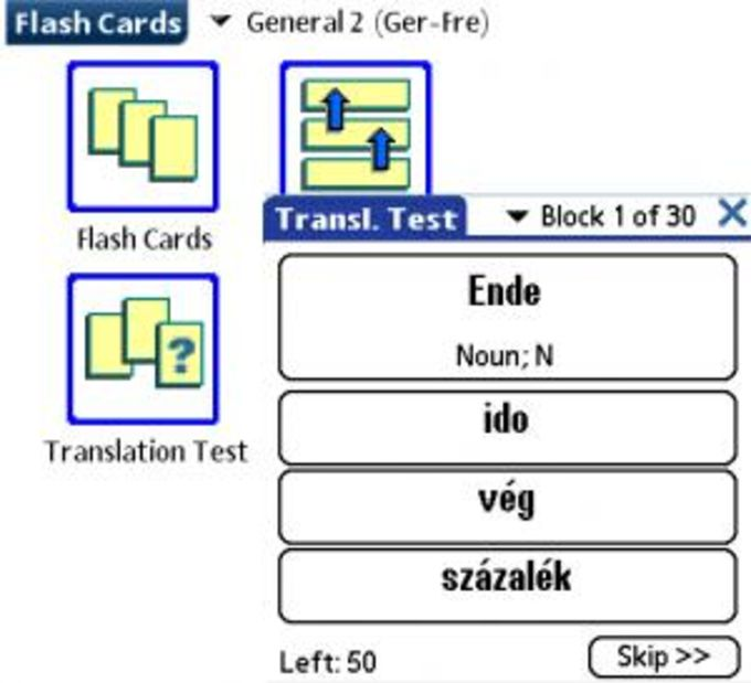 LingvoSoft FlashCards Deutsch/Ungarisch
