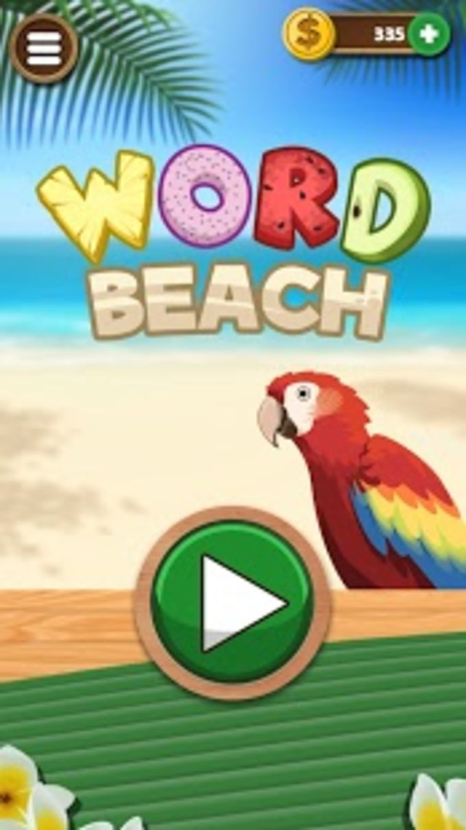 Word Beach Connect Letters Fun Word Search Games