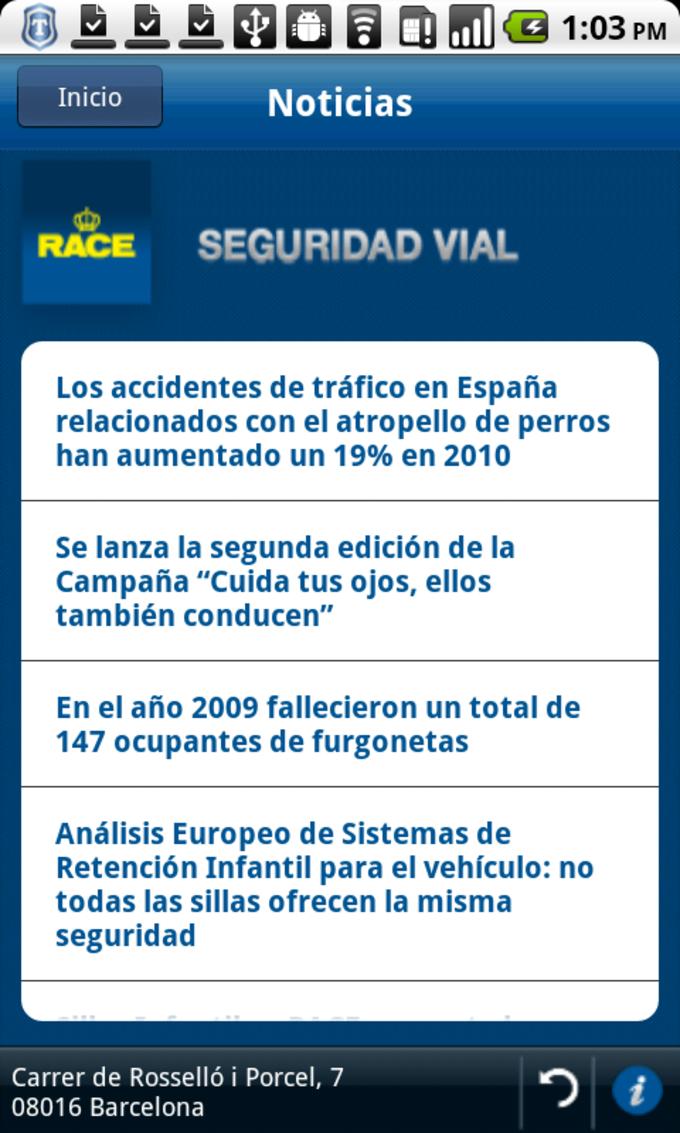 Seguridad Vial RACE