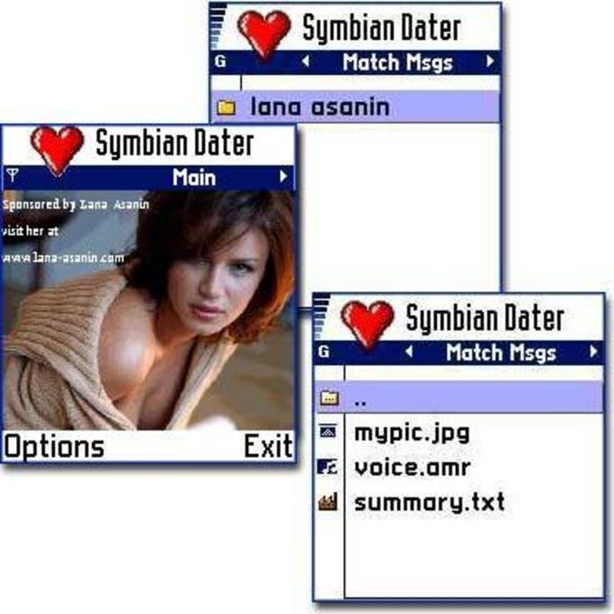 Symbian Dater