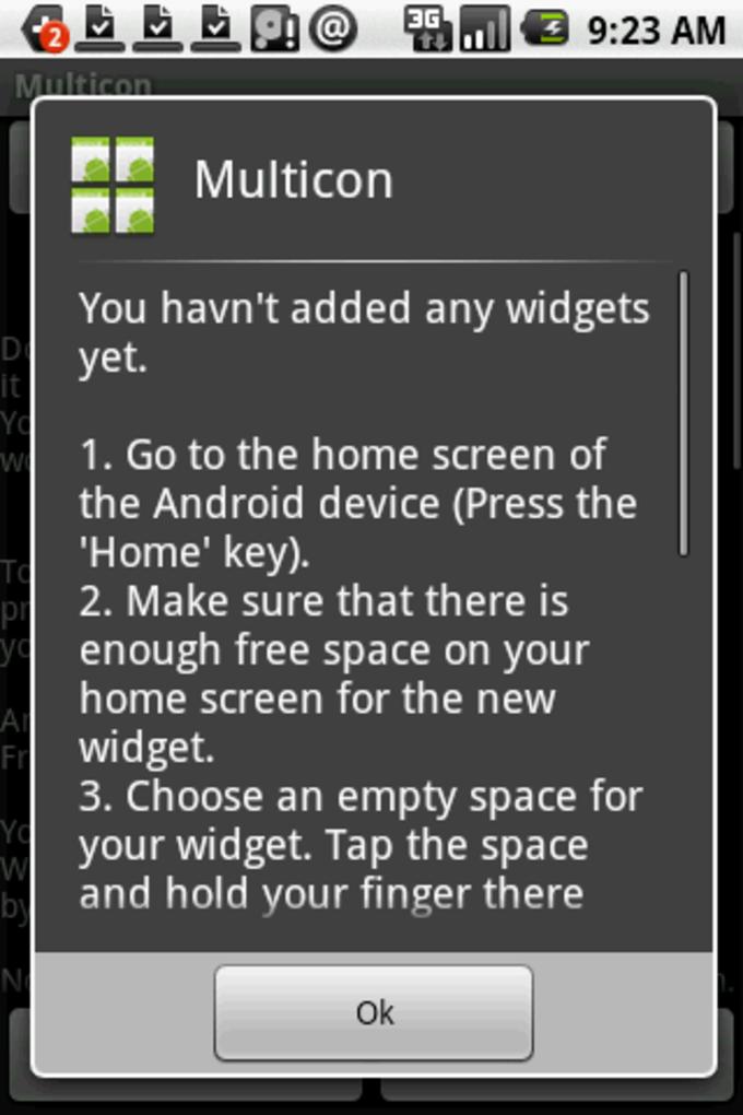 Multicon Widget