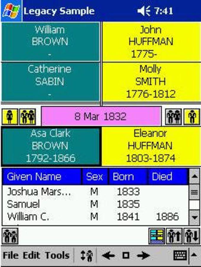 Pocket Genealogist