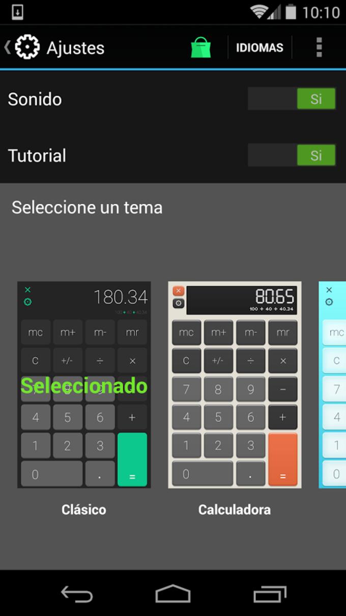 Calculadora HD