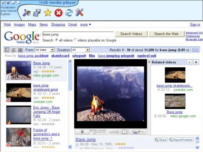 Web Media Player