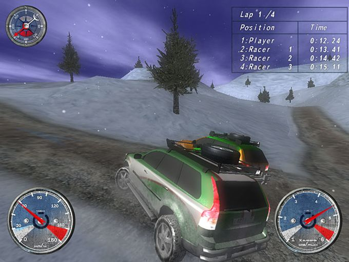 Winter Extreme Racers
