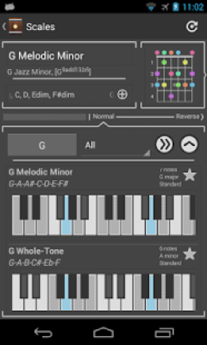 Chord! Free Guitar Chords for Android - Download