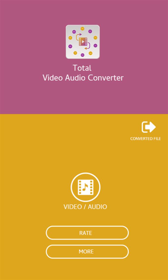 Total Video Audio Converter