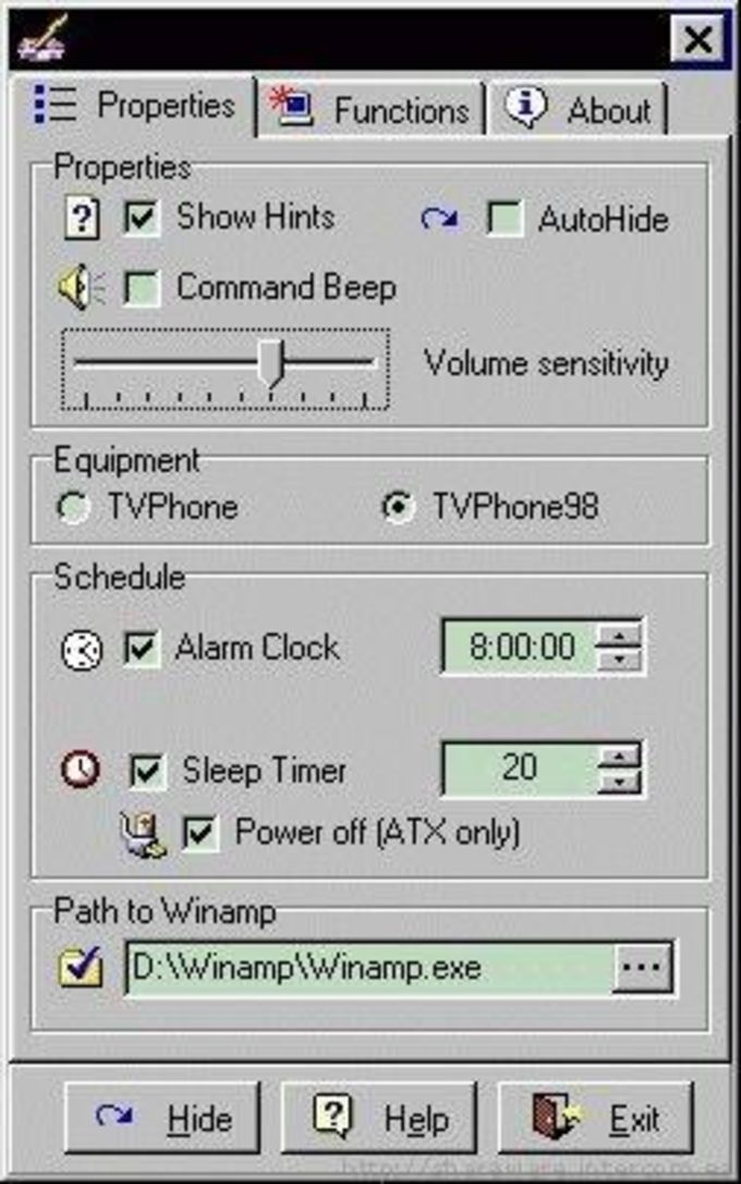Remote Control for WinAmp