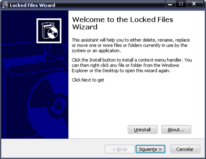 Locked Files Wizard