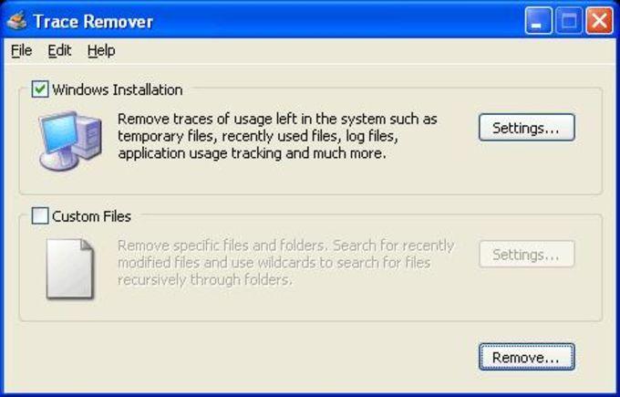 Trace Remover