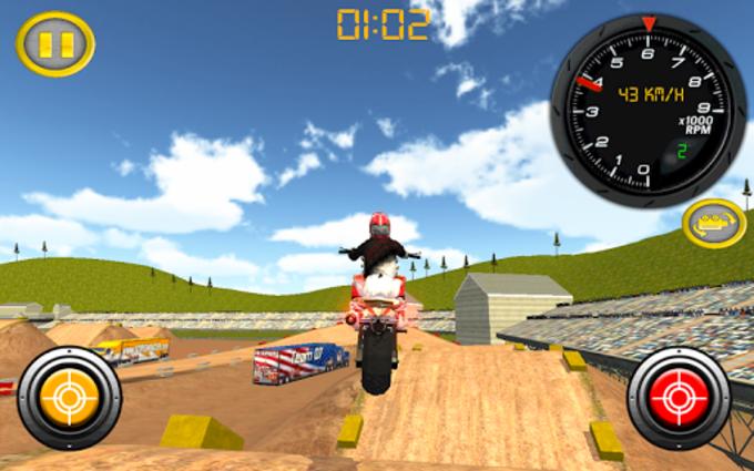 Dirt Bike Motocross Rally