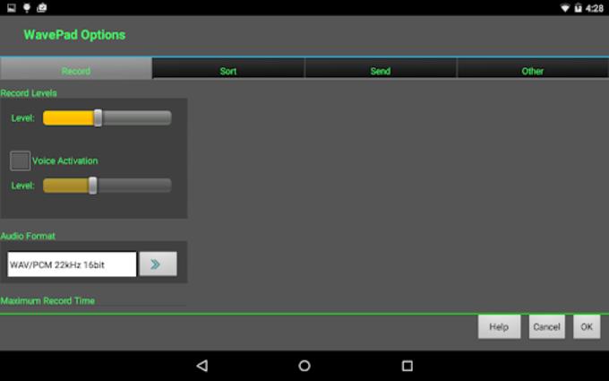 WavePad Audio Editor - Masters Edition