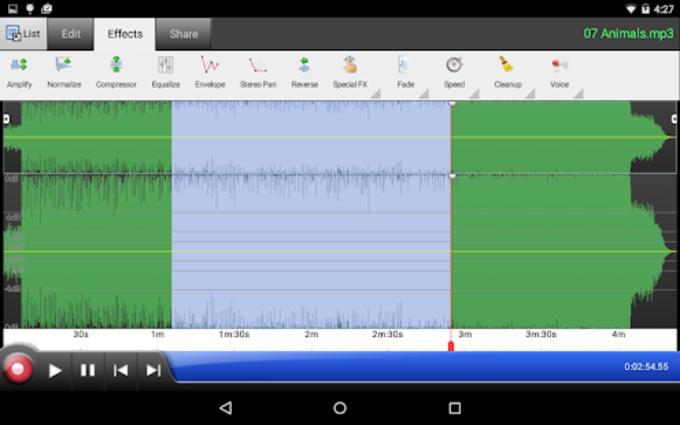 WavePad Sound Editor Masters Edition Spanish Version for PC or Mac