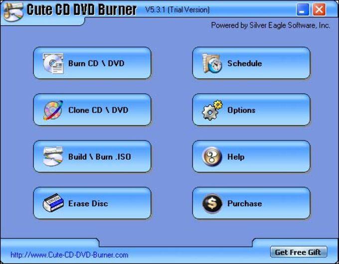 Cute CD DVD Burner