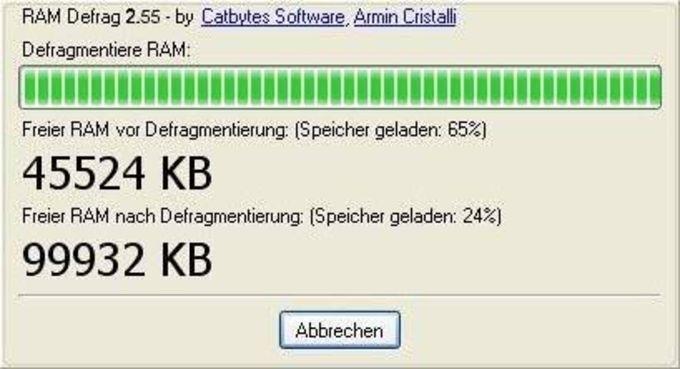 RAM Defrag