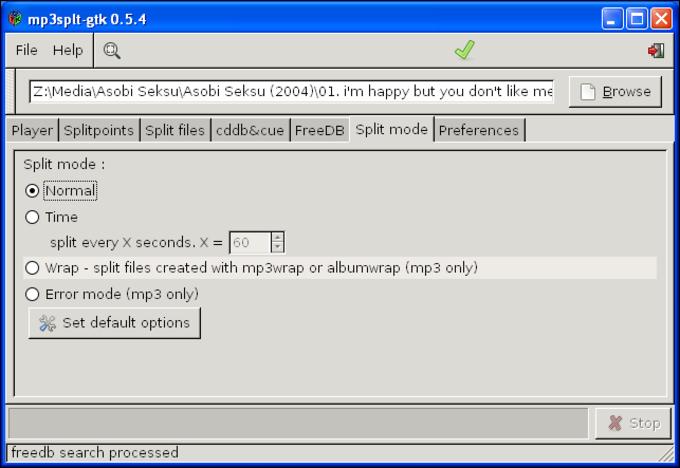 MP3splt-GTK Portable