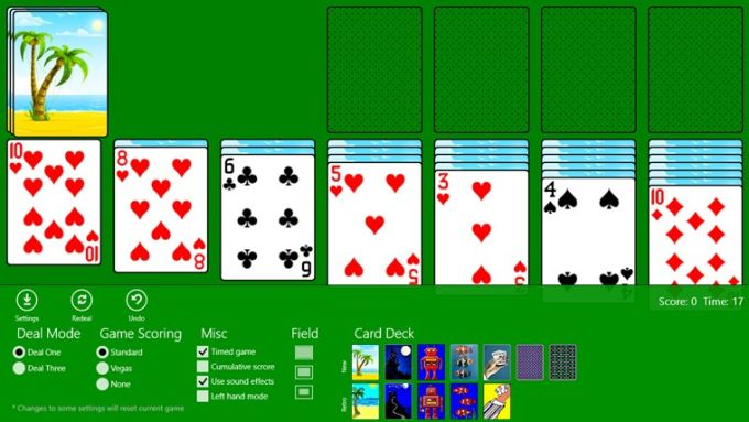 Free no registration no downloads classic solitaire games