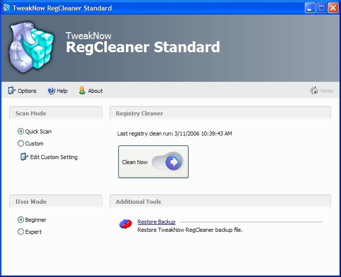 RegCleaner - Download