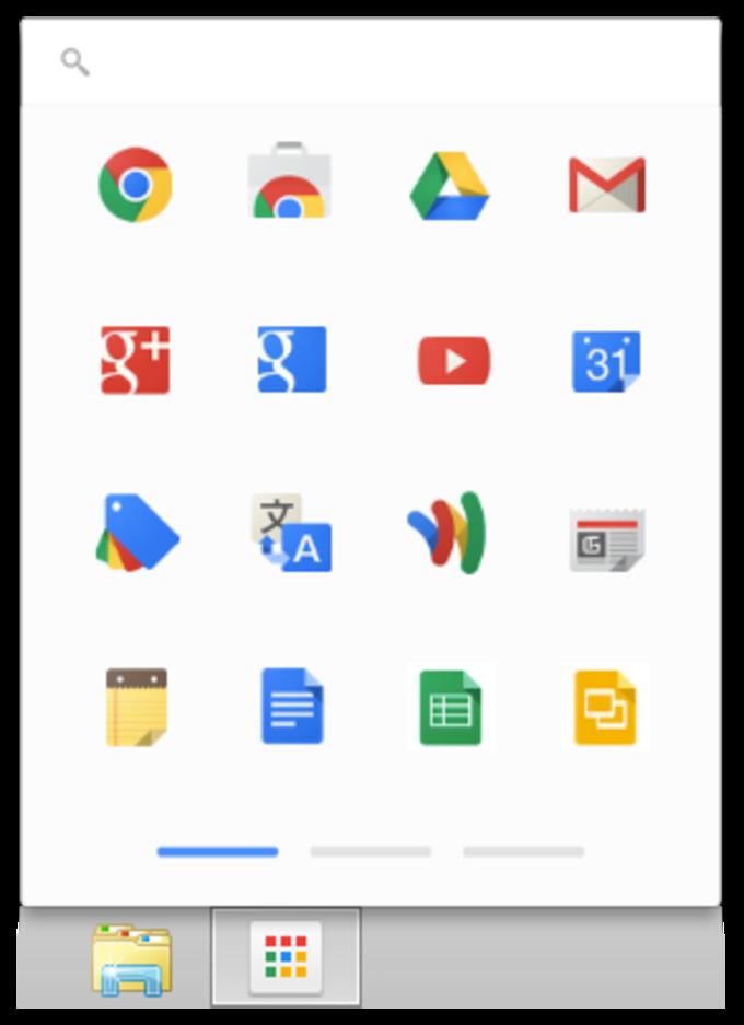 Google Chrome App Launcher