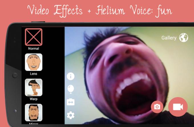 Camara Efectos Video