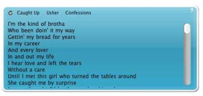 iTunesLyrics