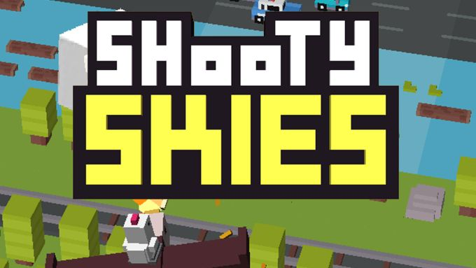 Shooty Skies - Arcade Flyer