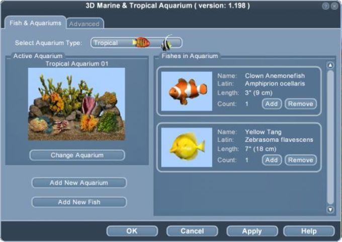 3D Marine Aquarium