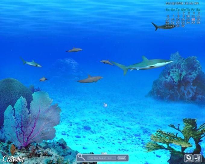 Crawler 3D Marine Aquarium