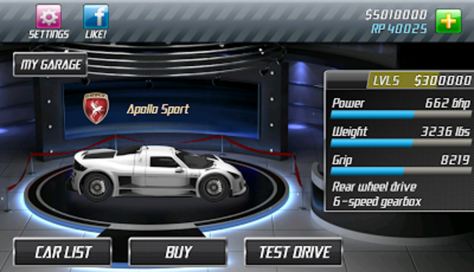 Drag Racing for Android - Download