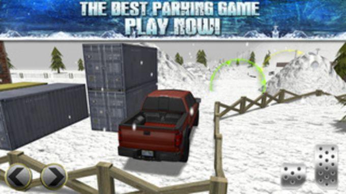 3D Ice Road Trucker Parking Simulator