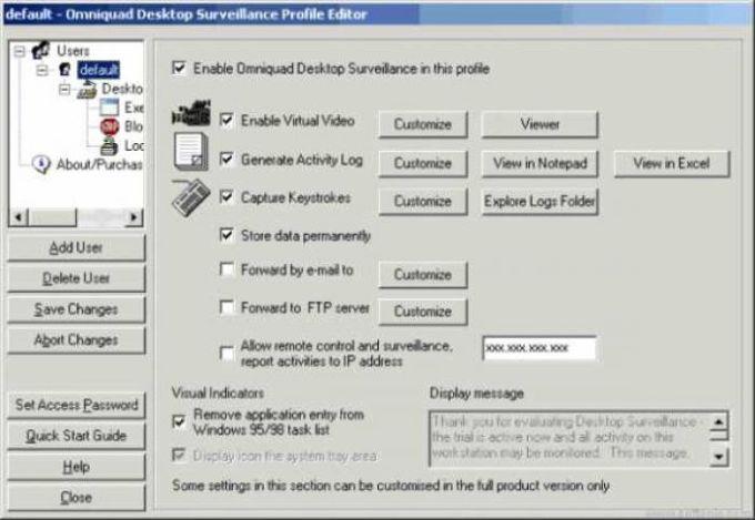 Desktop Surveillance Enterprise