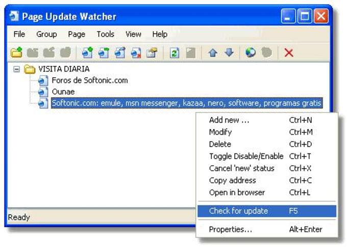 Page Update Watcher
