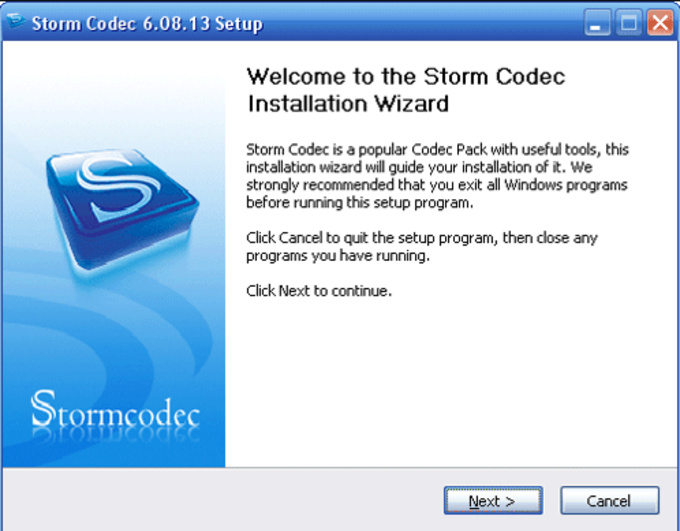 Storm Codec 3