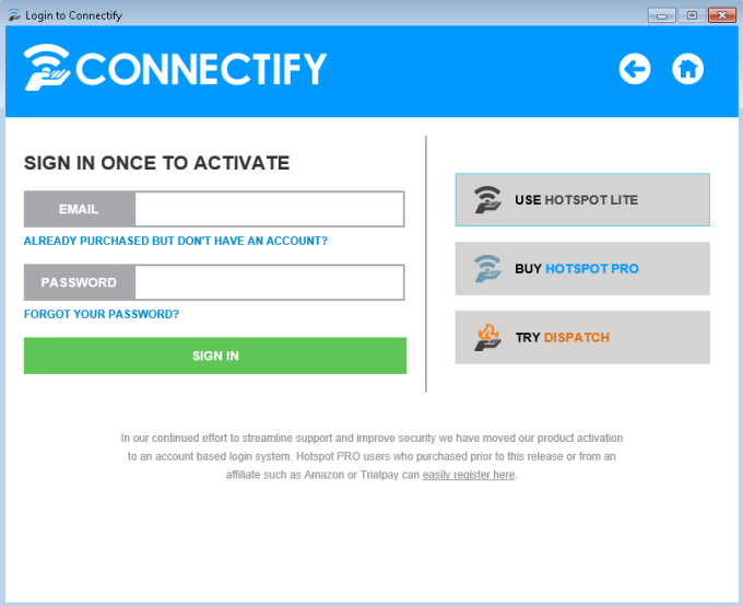 Connectify Beta