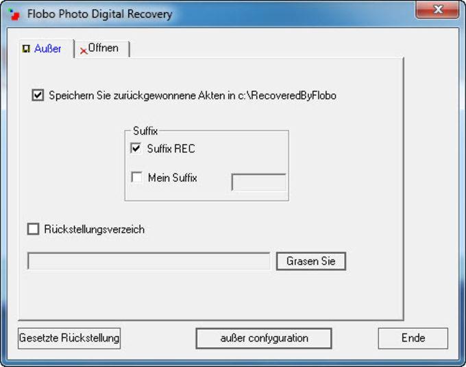Flobo Photo Digital Recovery
