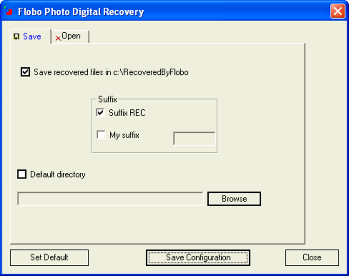Flobo Photo Digital Recovery
