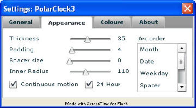 PixelBreaker PolarClock