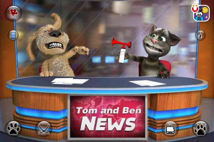 Noticias sobre Talking Tom & Ben