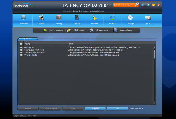 Latency Optimizer