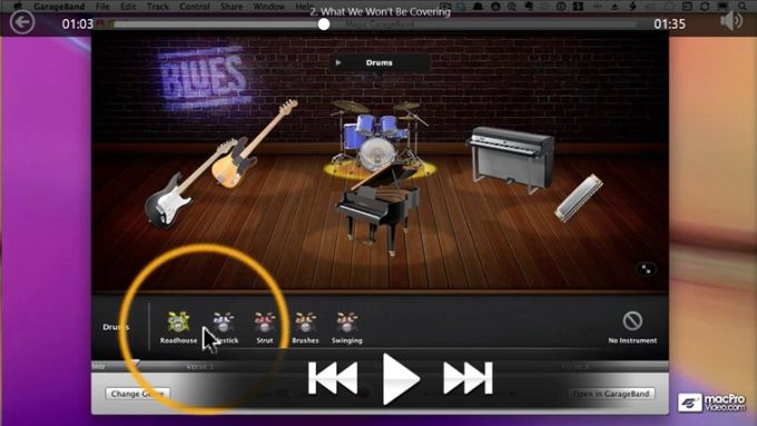 Learning GarageBand '11 for Windows 10